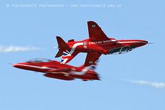 5703 Synchro (photozone72) Tags: fairford aviation airshows aircraft airshow canon canon7dmk2 canon100400f4556lii 7dmk2 redarrows reds redwhiteblue raf rafat