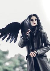 Crow with crow :) (lukoshka) Tags: dollshe saint bjd abjd crow cosplay dolls bjdphoto bjdphotography dollphotography