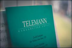 Telemann fantasias (G. Postlethwaite esq.) Tags: bankholiday dof eastermonday telemann beyondbokeh bokeh crapweather depthoffield misearable photoborder rain selectivefocus sheetmusic shite violin