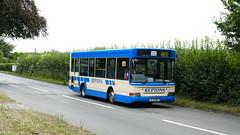 Surrey Take On TFL (londonbusexplorer) Tags: repton coaches dennis dart mpd plaxton pointer sl52rep 465 kingston dorking leatherhead shuttle bus tfl london buses