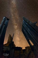 Puertas hacia la Galaxia (kunkache) Tags: lahiguera arquitectura castillos lugares nocturnas paisajes