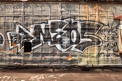 NEOS (TheGraffitiHunters) Tags: graffiti graff spray paint street art colorful pa pennsylvania philly philadelphia rooftop neos bando abandoned building
