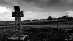 Landunvez St Samson cross (patrick_milan) Tags: cross samson landunvez storm cloud drama sky