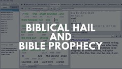Biblical Hail and End Times Signs.  Hail in Revelation and Bible Prophecy Analysis (prophecylunch) Tags: apocalyptic bible bibleprophecyanalysis biblesoftware biblicalhail bookofrevelation egypt endofworld endtimes endtimessigns fire firsttrumpet gianthail god greattribulation hail hailstones joshua judgement moses pharaoh prophecy revelation revelation11 revelation16 revelation8 signs sodomandgomorrah talent thetwelvegates tribulation xiphos