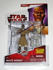 mace windu cw06 star wars the clone wars red white card basic action figures 2009 hasbro mosc a (tjparkside) Tags: mace windu star wars clone cw06 cw 06 tcw basic action figure figures hasbro 2009 red white card packaging lightsaber helmet shoulder armor left right arm snap jedi council master knight