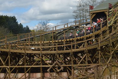Leaving the Tunnel (Motion Blur) (CoasterMadMatt) Tags: altontowers2018 altontowersresort2018 altontowers altontowersresort alton towers resort themepark amusementpark theme amusement parks park englishthemeparks wickerman wicker man thewickerman newridefor2018 newrollercoasterfor2018 newfor2018 ride rides rollercoasters rollercoaster roller coaster coasters englishrollercoasters motionblur motion blur train trains staffordshire staffs westmidlands themidlands west midlands england britain greatbritain gb unitedkingdom uk europe april2018 spring2018 april spring 2018 coastermadmattphotography coastermadmatt photos photographs photography nikond3200