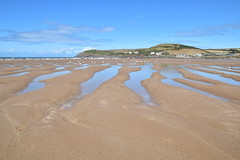 Croyde Bay (James Mans) Tags: nikon d5500 croyde north devon sand sea water ocean seaside uk england sky blue dunes dune sigma1750 1750mm28 landscape beach bay