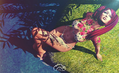 Sunbath (Max McMahon) Tags: tattoo bikini carolg jl ebentoevent bento event