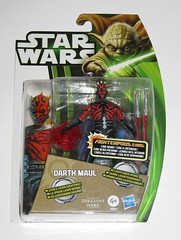 darth maul cyborg star wars the clone wars cw08 yoda packaging basic action figures 2013 wave 1 hasbro mosc 2a (tjparkside) Tags: darth maul star wars clone yoda packaging basic action figures hasbro 2012 cw08 cw tcw 08 fighterpods dathomir lightsaber spins double ended blade blades savage opress nightsister nightsisters cyborg lightsabers figure brother brothers mother talzin cybernetic legs force spinner