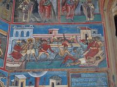 Slaughter (rgrant_97) Tags: nia bucovina monastery voronets frescoes blue