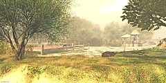 The Sound Of Silence... (MetteKenzo Nagy | . MKN .) Tags: second life explore visit travel destination location tree sky grass animal wood forest field