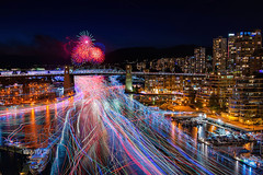 Celebration of Light 2018 - Team Sweden 5 (OliverCui) Tags: celebration light lights fireworks firework british columbia canada vancouver bc night downtown sunset sweden