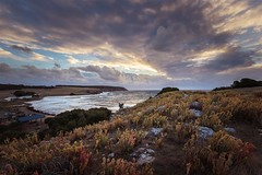 Sunset on Stokes Bay (mamacollins231283) Tags: kangaroo island southaustralia beach water sunsets clouds