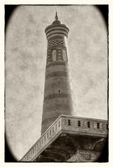 Chiwa UZ - Islom-Hoja Minaret 07 (Daniel Mennerich) Tags: silk road uzbekistan chiwa khiva ichanqal'а islomhoja minaret