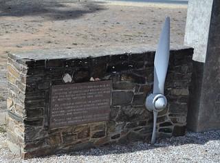 Reverend John Flynn monument, Moliagul, Victoria
