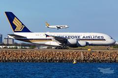 9V-SKV SQ A380 16R YSSY-3921 (A u s s i e P o m m) Tags: mascot newsouthwales australia au singaporeairlines singapore sq tigerair tiger tiggoz tt syd yssy sydneyairport