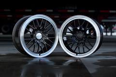 Ace Flowform AFF04- 18X8.5 (ACEALLOYWHEEL/AMF FORGED) Tags: acealloy acealloywheels aceflowform aff04 18inchaftermarketwheels rims wheels tires vw euro jdm