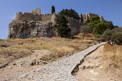 Lindos Akropolis path (ir0ny) Tags: rhodes greece lindos acropolis akropolis lindosacropolis lindosakropolis ruins ancientruins lindian