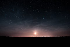 Gigantische Nacht (ReppiX) Tags: astronomy night sky long m45 plejaden stars canon 650d astro himmel 200d nachthimmel mond moon astrometrydotnet:id=nova2713594 astrometrydotnet:status=solved