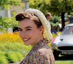 Schloss Dyck Classic Days 2018 (Aperture111-Thanks for 2 million+ views) Tags: sonyalpha65 portrait models vintagefashionshow modenschau schlossdyck classicdays2018