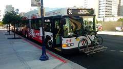 2015 Gillig Advantage (scenicmirage) Tags: 2015 gillig advantage low floor bus 211 route 50 metropolitan transit system downtown san diego