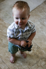 13 Months Old (heathervermeys) Tags: boy baby toddler smiles future stud