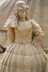 Sandskulpuren Waterfront 14 (akumaohz) Tags: nikon d3200 deutschland germany bremen waterfront sand skulptur sculpture drausen outside cinderella aschenputtel