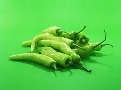 green chili peppers (www.icon0.com) Tags: green chili pepper hatch chile hot fe new capsicum santa white mexican nm mexico food isolated dish meal two kitchen key double williams studio southwestern rip clean vegetable culinary shiny high close colorful ingredient albuquerque veggie fresh nested cooking spicy perfect cuddle alone nestle