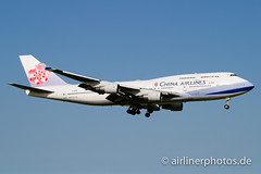 B-18206 (Airlinerphotos.de) Tags: ams b747400 chinaairlines