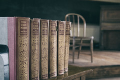 And Some Day We'll Have Common Core (pmkelly) Tags: backtoschool books classroom commoncore ghosttown lakevalley newmexico school standards vintage