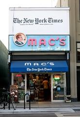 Mac's Smoke Shop - Palo Alto, Calif. (hmdavid) Tags: macs smoke shop paloalto california vintage neon sign man pipe newyorktimes newspaper stand smoker