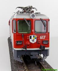 "LGB 28443 - Elektrolokomotive Ge 4/4 II der RhB ""50 Jahre LGB"" (Stefan's Gartenbahn) Tags: märklin lgb 28443 rhb elok ge44ii 617 ilanz schweiz gartenbahn fgb fgbberlin fgbteam jubiläumslok 50jahre"