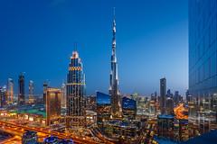 Bur Khalifa Dubai (Shameem Shah) Tags: dubai burjkhalifa cityscape uae travel shutterarts bluehour