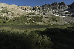 At Castle Lake (Brandon Rasmussen) Tags: nevada humboldttoiyabenationalforest rubymountainswilderness rubymountains hiking backpacking nature landscape nikond7100 nikkor1224mmf4g 1224f4 castlelake