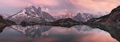 The legends (lionel.fellay) Tags: chamonix montblanc druz verte mountains france sunsnet colors lake view mirror reflection landscape fujifilm xt2 panorama