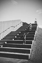 (Paul J's) Tags: newplymouth taranaki coastalwalkway girl steps