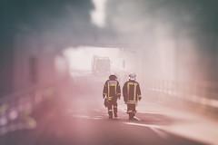 Feuerwehr Bochum (CA_Rotwang) Tags: feuerwehr bochum germany deutschland uniform firefighter ruhrgebiet grosbrand fire nrw