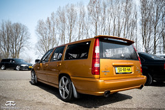 Volvo V70 track car (TimelessWorks) Tags: time less works timeless timelessworks tw auto car bil vehicle automobile automotive volvo swedish safe autox autocross track cone cones trackday racing race attack 850 t5 t4 d5 r t5r awd s60 v60 v70 v90 s70 s90 940 240 140 142 242 340 480 netherlands lelystad midlands circuit racecar becauseracecar c70 modified tuned aftermarket sunny summer spring day