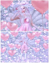 Magical Kitsune Girl (Normajean Rae) Tags: {konpeitou} altair amitomo atelierpepe cute fashion halfdeer kawaii kitsune lamb lovelyalien mor rottentoe sallielanguage secondlife seydr sweetthing blog