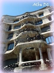 Casa Milà de Gaudí en Barcelona (Cataluña - España) (albadgr) Tags: casa milà barcelona cataluña españa spain house arte art gaudí