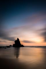 Tranquility (Hugo Carvoeira) Tags: tranquility peace paz tranquilidade praia beach sintra sunset por do sol almoçageme portugal