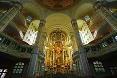 Frauenkirche interior, Dresden (Andrey Sulitskiy) Tags: dresden germany