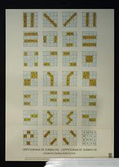 Cryptograms (Lee Rosenbaum) Tags: cryptogram spain barcelona church gaudi architecture sign building cathedral lasagradafamilia catalunya es