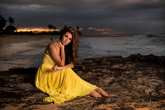 Kiana @ Sandy Beach July 2018 06 (JUNEAU BISCUITS) Tags: sunset beauty glamour portrait portraiture sandybeach hawaii hawaiiphotographer model modeling