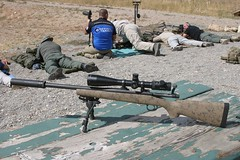 Sniper model Remington Model 77 in 308 Winchester (huntingmark) Tags: guntest gun rimfire optics testing shooting field range warmup target longrange 308win wildcat hunter expert scope sniper itacha nightforce 65creedmoor creedmoor ruger chassis rifle hunting 300win blackout hornady