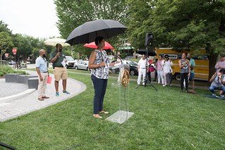 June 24, 2018 MMB Cuts the Ribbon on Petworth Meditation Garden