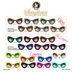 F&M Panic @ The Zoo * Sunglasses Gacha (FANTAVATAR & MOONSTRUCK) Tags: fantavatarmoonstruck fantavatar lunabarak panic zoo