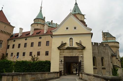 The castle of Bojnice IV