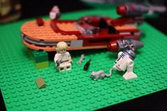 66 (dalokoshru) Tags: lego starwars r2d2 luke skywalker porg lukeskywalker