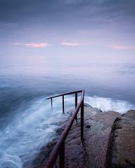 _1111712 (Pekko Ahlsten) Tags: sunrise seascape landscape longexposure gh5 panasonic1235f28ii ireland dublin dunlaoghaire fortyfoot sea sky travel